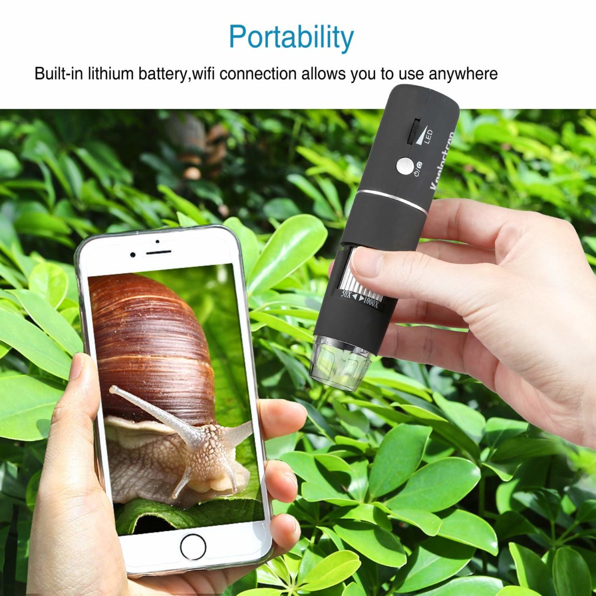 Koolertron Wireless Digital Microscope